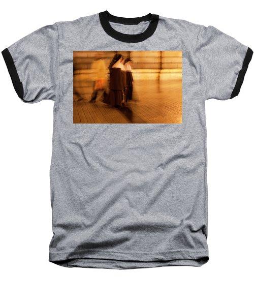 Piety In Motion Baseball T-Shirt