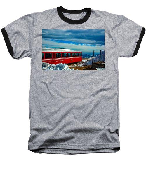 Baseball T-Shirt featuring the photograph Pikes Peak Railway by Shannon Harrington