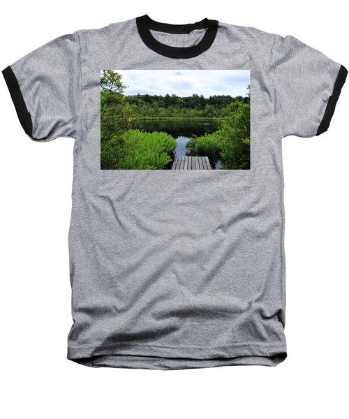 Pine Hole Pond Baseball T-Shirt