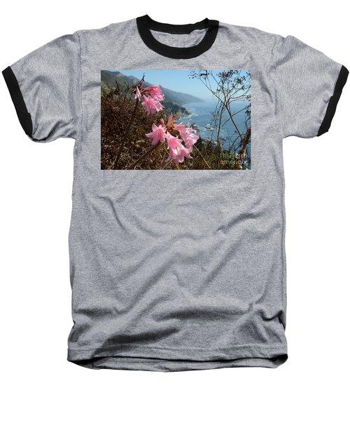 Pink Amaryllis Baseball T-Shirt