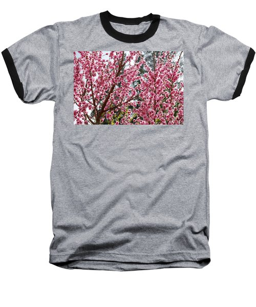 Baseball T-Shirt featuring the photograph Pink Flood by Fotosas Photography