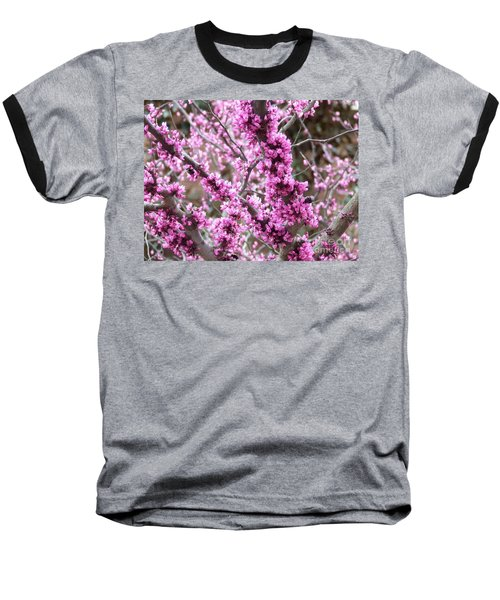 Baseball T-Shirt featuring the photograph Pink Flower by Andrea Anderegg