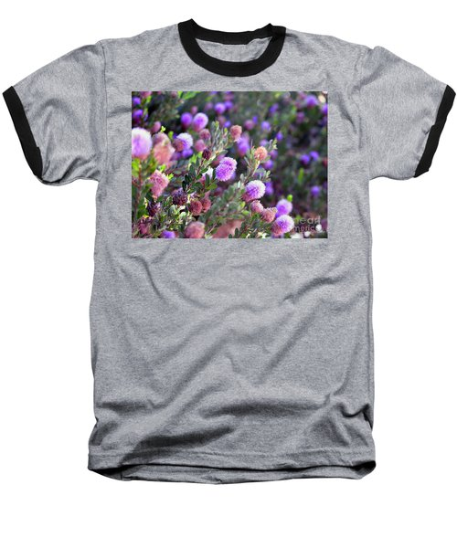 Baseball T-Shirt featuring the photograph Pink Fuzzy Balls by Clayton Bruster