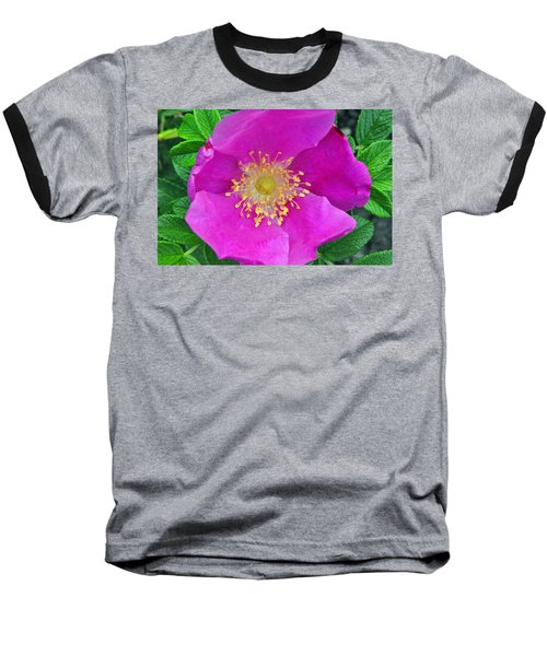 Baseball T-Shirt featuring the photograph Pink Portulaca by Tikvah's Hope