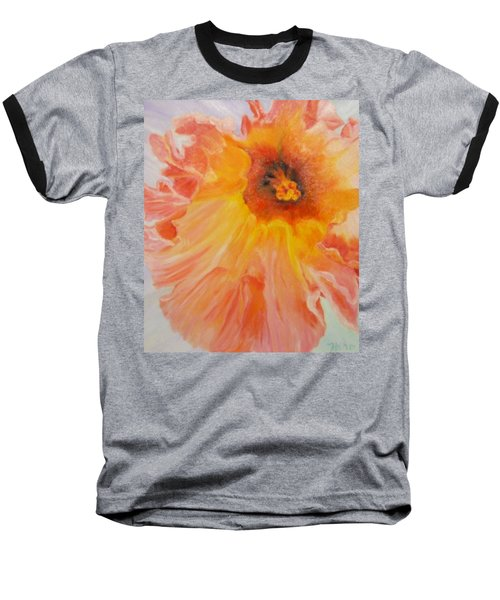 Pink Ruffles Baseball T-Shirt