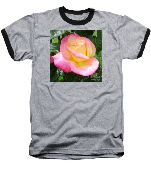 Baseball T-Shirt featuring the photograph Pink Yellow Beauty by Tanya  Searcy