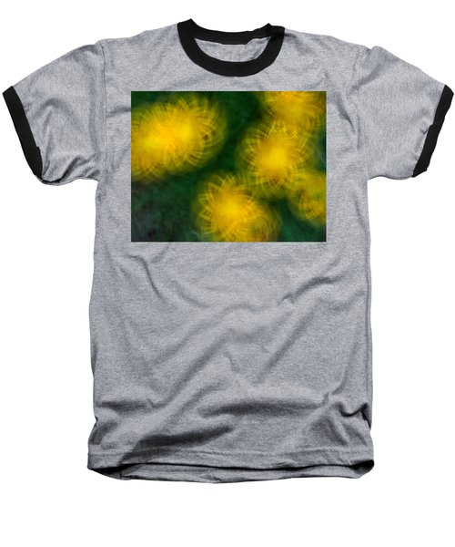 Pirouetting Dandelions Baseball T-Shirt