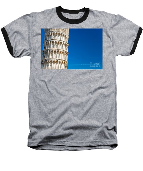 Baseball T-Shirt featuring the photograph Pisa Leaning Tower by Luciano Mortula
