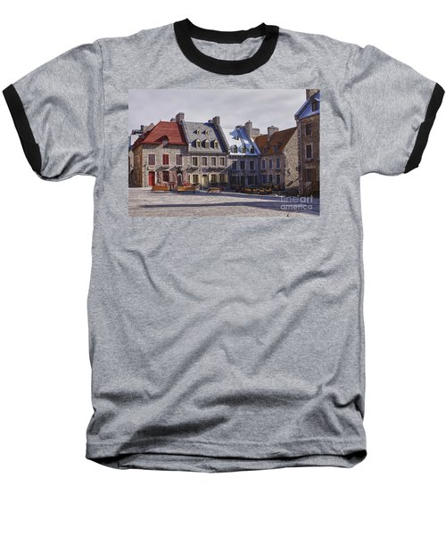 Baseball T-Shirt featuring the photograph Place Royale by Eunice Gibb