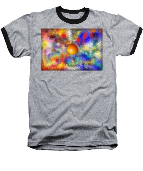 Planet Stand Out Baseball T-Shirt by Alec Drake
