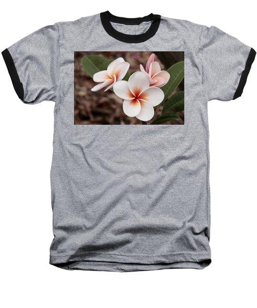 Plumeria   Kona Hawii Baseball T-Shirt