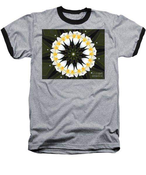 Plumeria 1 Baseball T-Shirt