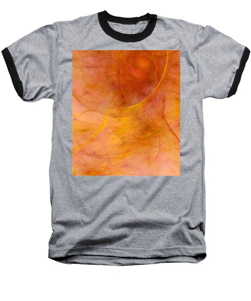 Poetic Emotions Abstract Expressionism Baseball T-Shirt