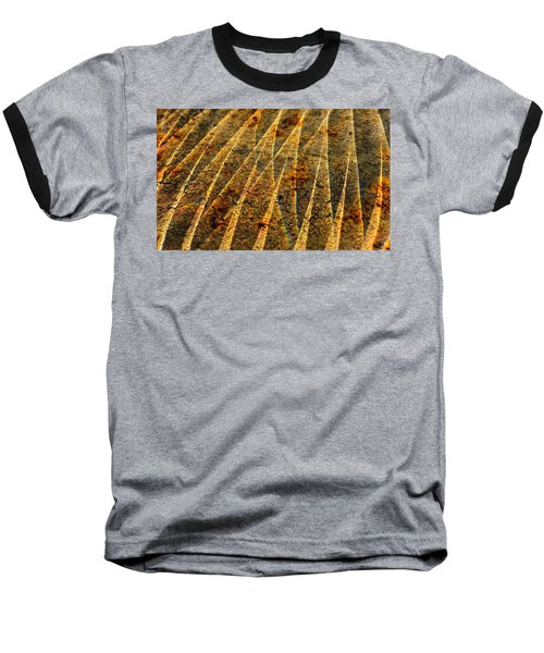 Points Of Light Baseball T-Shirt by Susan Capuano