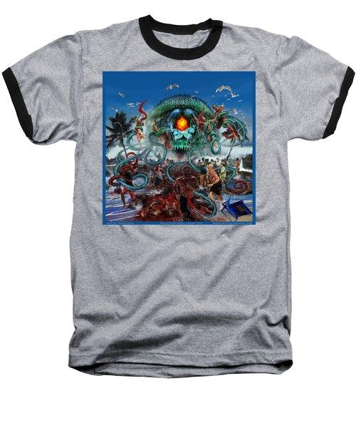 Pollution Shall Thank You Baseball T-Shirt