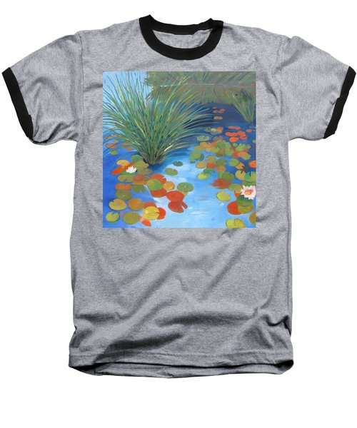 Pond Revisited Baseball T-Shirt by Gary Coleman