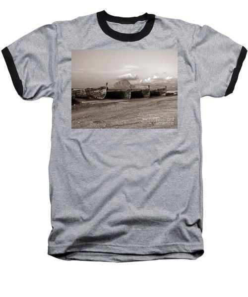 Old Port Of Trapani Baseball T-Shirt