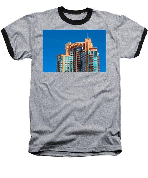 Portofino Tower At Miami Beach Baseball T-Shirt