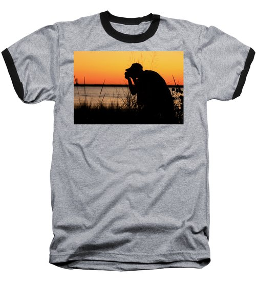 Portrait Of A Photographer Baseball T-Shirt