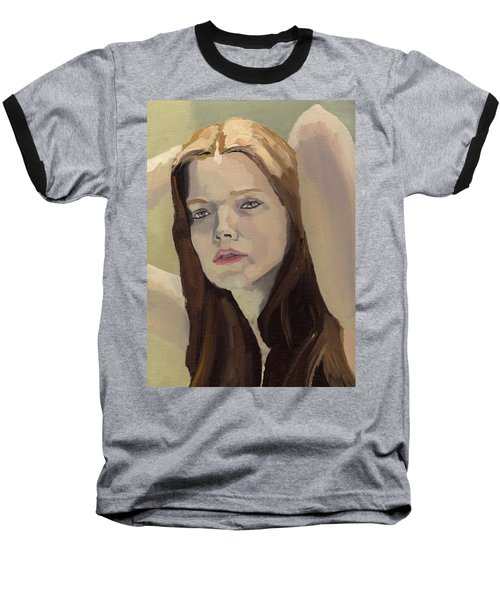 Portrait Of Ashley Baseball T-Shirt
