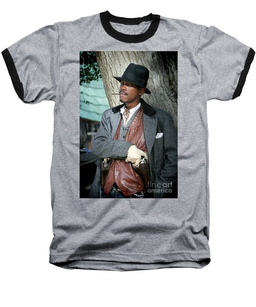 Portrait Of Kurupt Baseball T-Shirt
