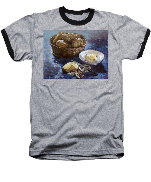 Potatoes Baseball T-Shirt