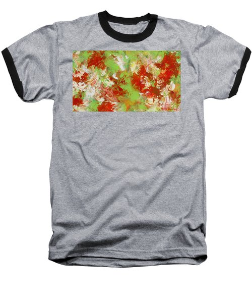 Potted Flowers Baseball T-Shirt