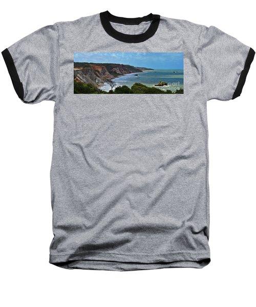 Praia De Tambaba - Paraiba Baseball T-Shirt