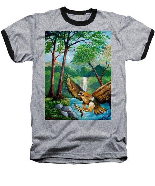 Presa Atrapada Baseball T-Shirt