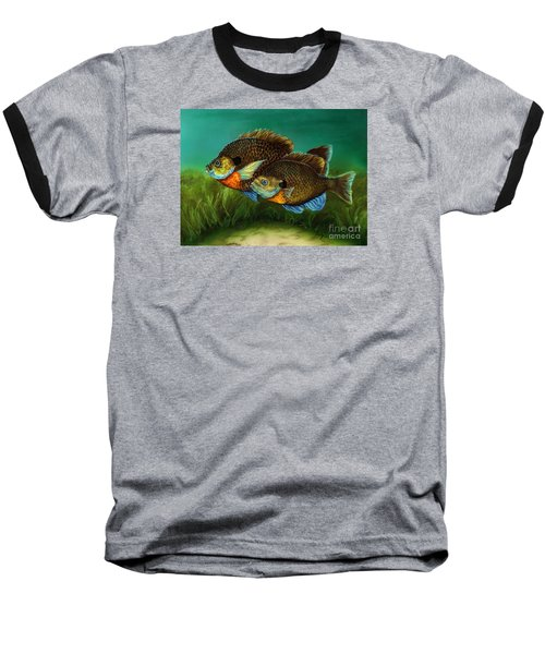 Pretty Little Panfish Baseball T-Shirt