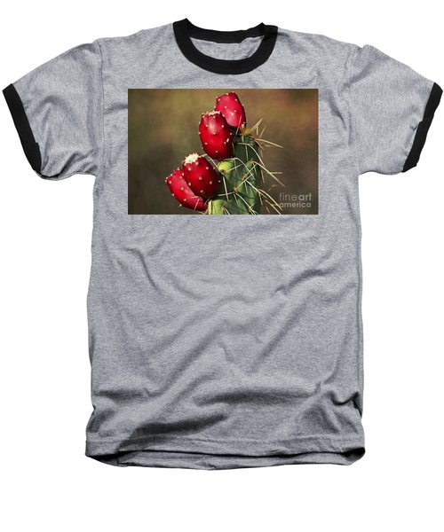Prickley Pear Fruit Baseball T-Shirt