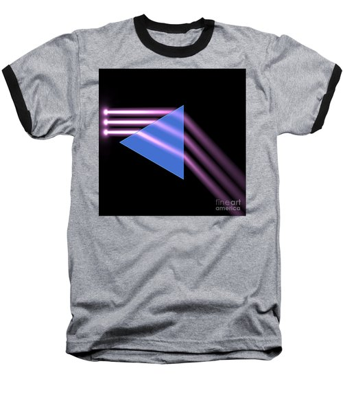 Baseball T-Shirt featuring the digital art Prism 1 by Russell Kightley