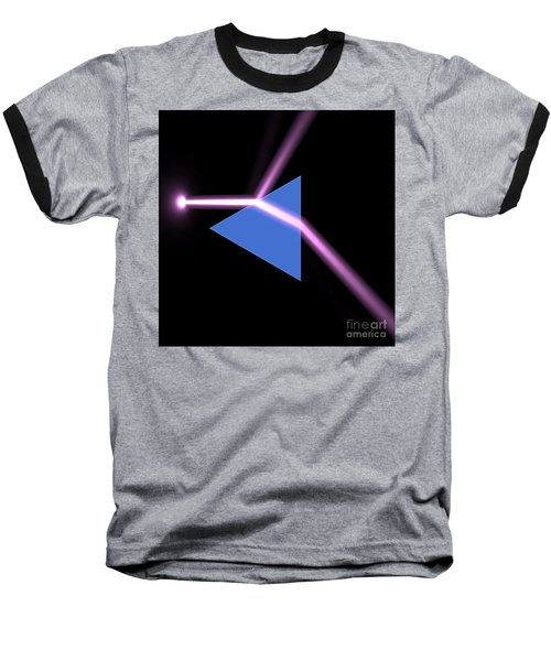 Baseball T-Shirt featuring the digital art Prism 3 by Russell Kightley