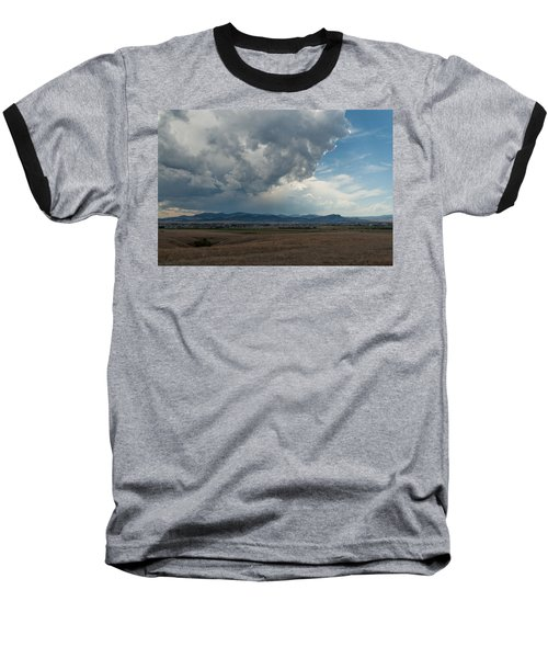 Baseball T-Shirt featuring the photograph Promises Of Rain by Fran Riley