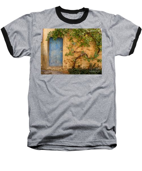Provence Door 5 Baseball T-Shirt by Lainie Wrightson