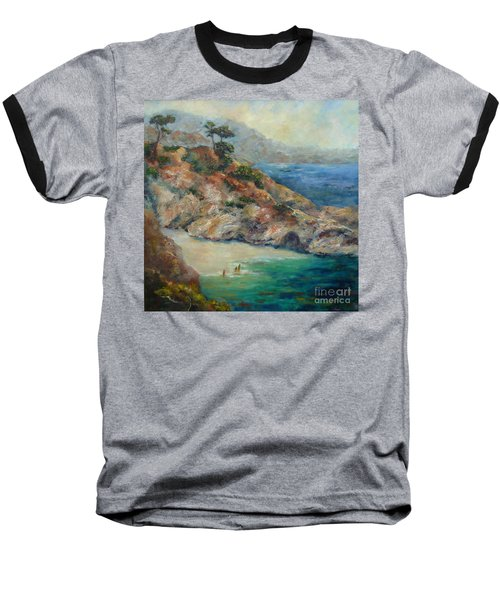 Pt Lobos View Baseball T-Shirt