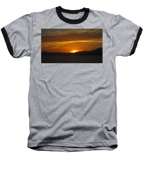 Baseball T-Shirt featuring the photograph Puerto Vallarta Sunset by Marilyn Wilson