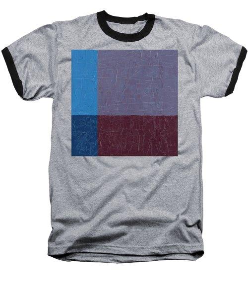 Purple And Blue Baseball T-Shirt