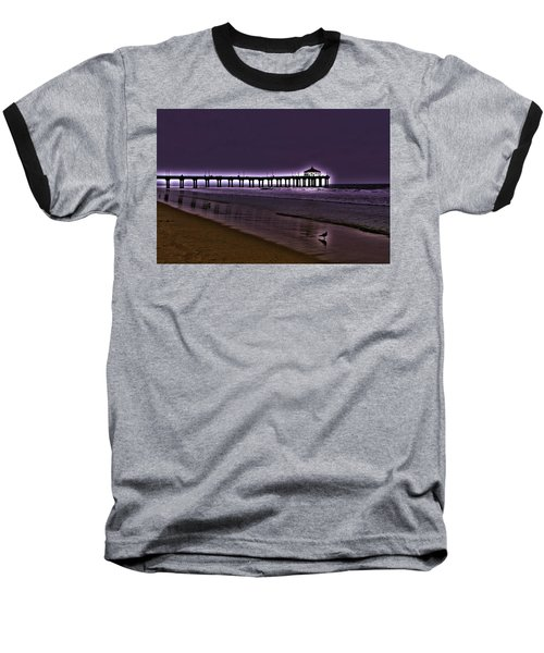 Purple Dawn Baseball T-Shirt
