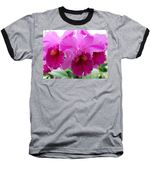Baseball T-Shirt featuring the photograph Purple Explosion by Debbie Hart