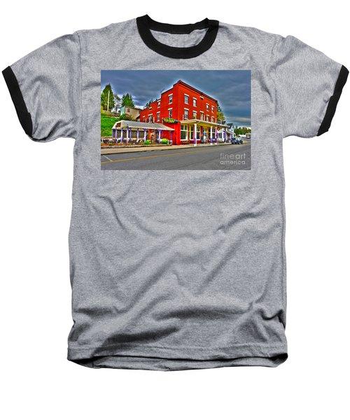 Purple Fiddle In Thomas Wv Baseball T-Shirt