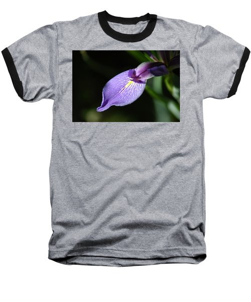 Japanese Iris Petal Baseball T-Shirt