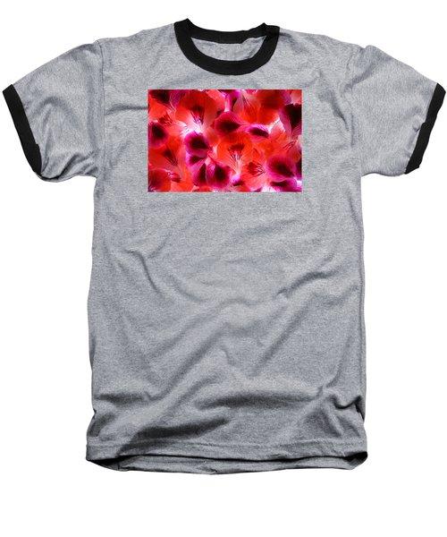 Purple Meditation Baseball T-Shirt