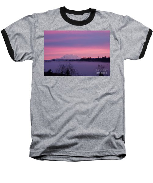 Purple Mountain Majesty Baseball T-Shirt
