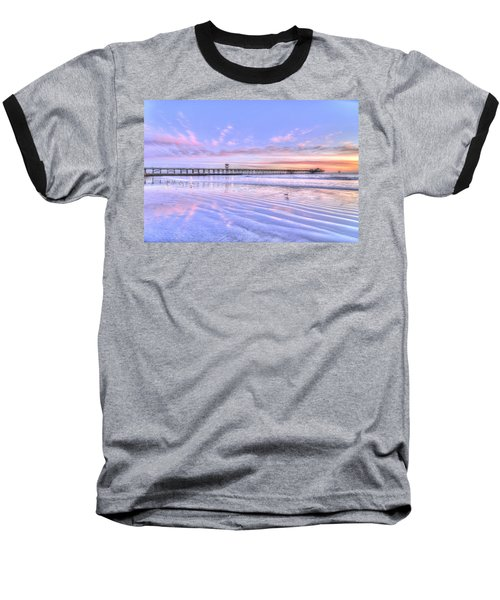 Purple Sunset Baseball T-Shirt