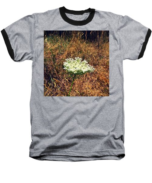 Queen Anne's Lace On The Beach Baseball T-Shirt