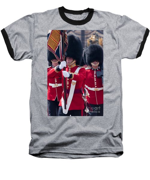 Queens Guards Baseball T-Shirt