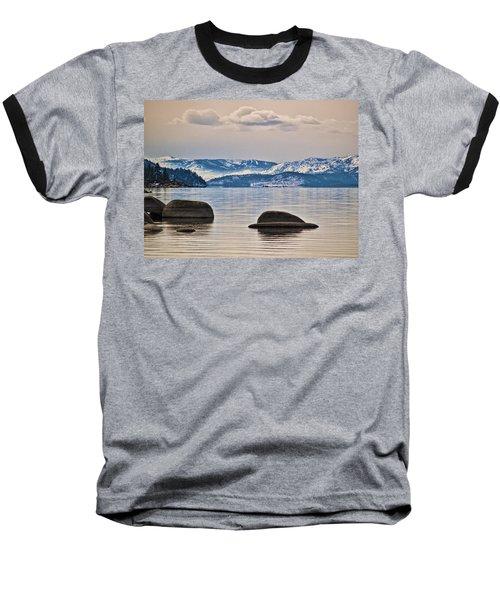 Quiet Lake Tahoe Baseball T-Shirt