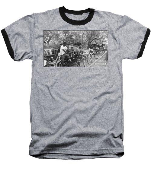 Quiet Tuesday Central Park Baseball T-Shirt