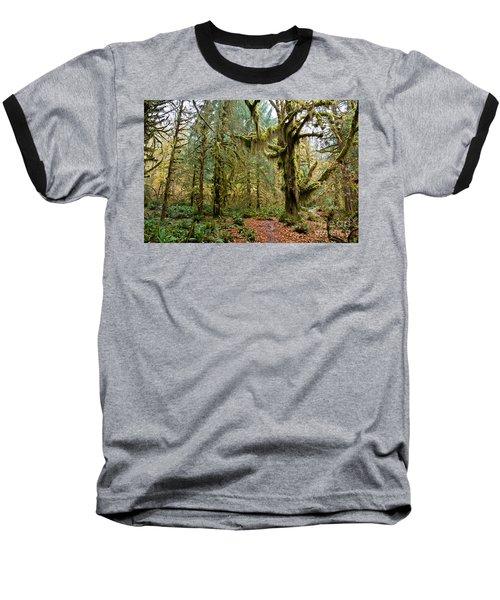 Rain Forest In Fall Baseball T-Shirt